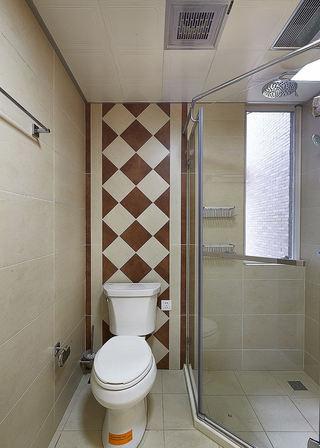 美式风格家居卫生间隔断图