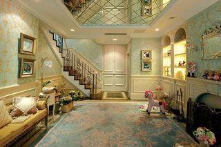 唯美梦幻欧式装修风格复式家装欣赏图