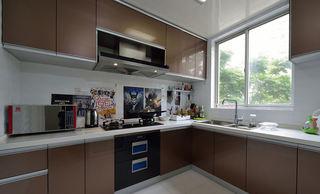 时尚现代厨房橱柜装饰图