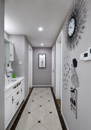 时尚简约现代 家居过道洗手区设计