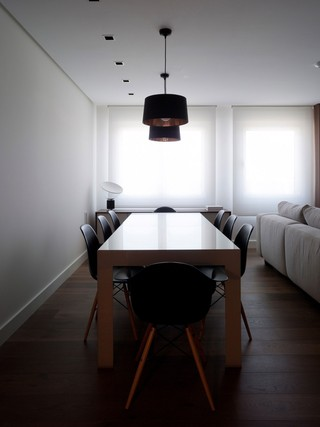 简约装修风格餐厅餐桌椅布置