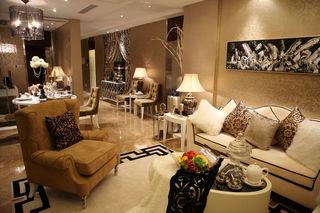 欧式风格二居室内设计装修图