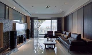 深色系摩登后现代风格客厅装饰大全欣赏