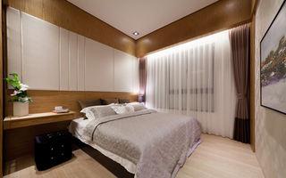简约宜家设计原木卧室效果图