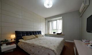 时尚简约现代卧室装修图