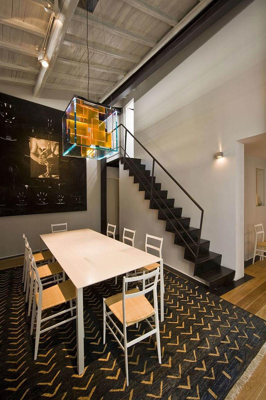 现代时尚loft餐厅艺术灯设计