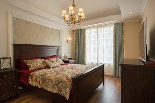典雅复古美式卧室装饰大全