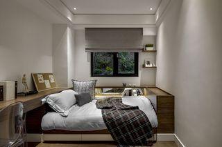 简约现代创意 儿童房多功能床沿设计