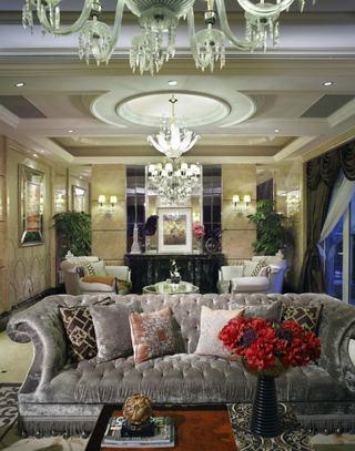 奢华精美欧式新古典装修吊顶欣赏