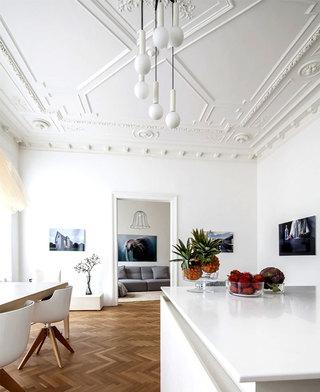 48平唯美简约维也纳风格小户型设计