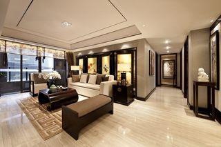 奢华精美中式新古典客厅家居效果图