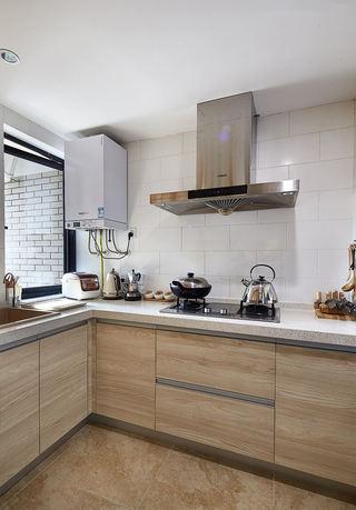 温馨宜家日式厨房橱柜设计效果图
