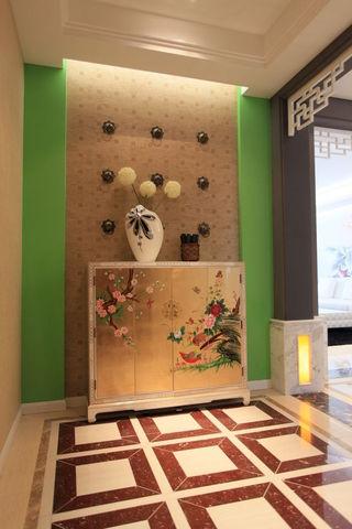 清新精美中式新古典玄关设计