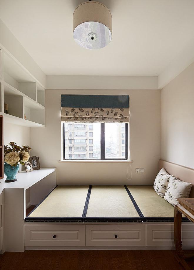 清新简欧室内休闲榻榻米设计图