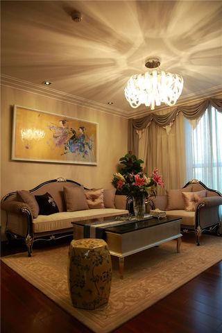 优雅浪漫中西合璧混搭客厅装饰大全