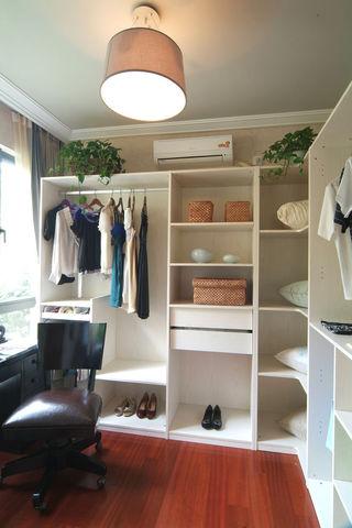 时尚现代衣帽间衣柜鞋柜一体