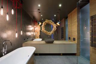 美式复古风卫生间设计