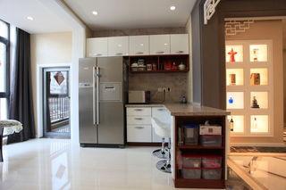 时尚现代家居厨房吧台设计