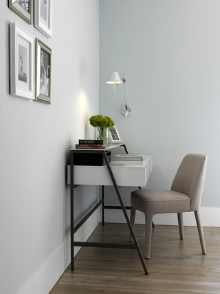 清爽精致宜家风格书房桌椅设计