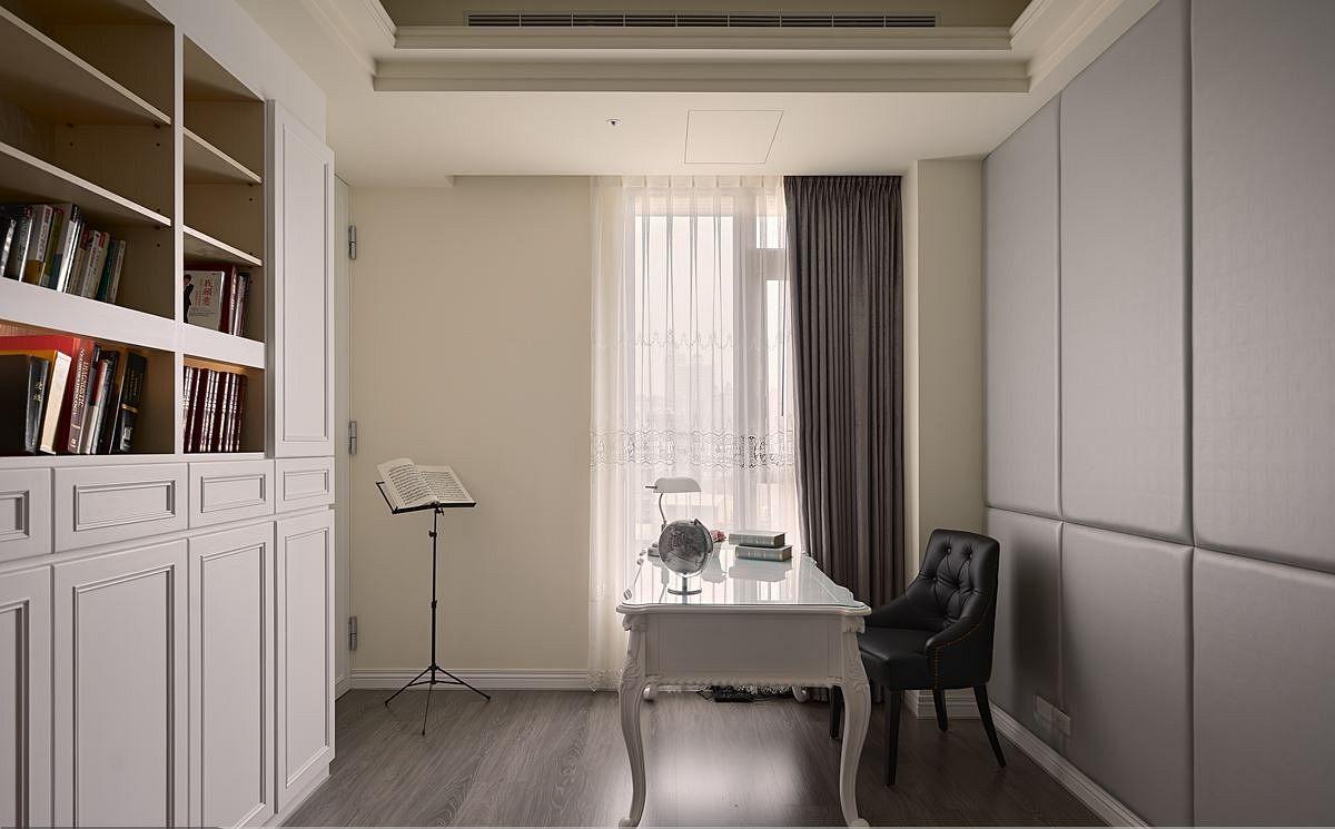 新古典风格家装设计书房效果图