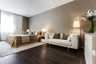 时尚大气现代风卧室背景墙装饰