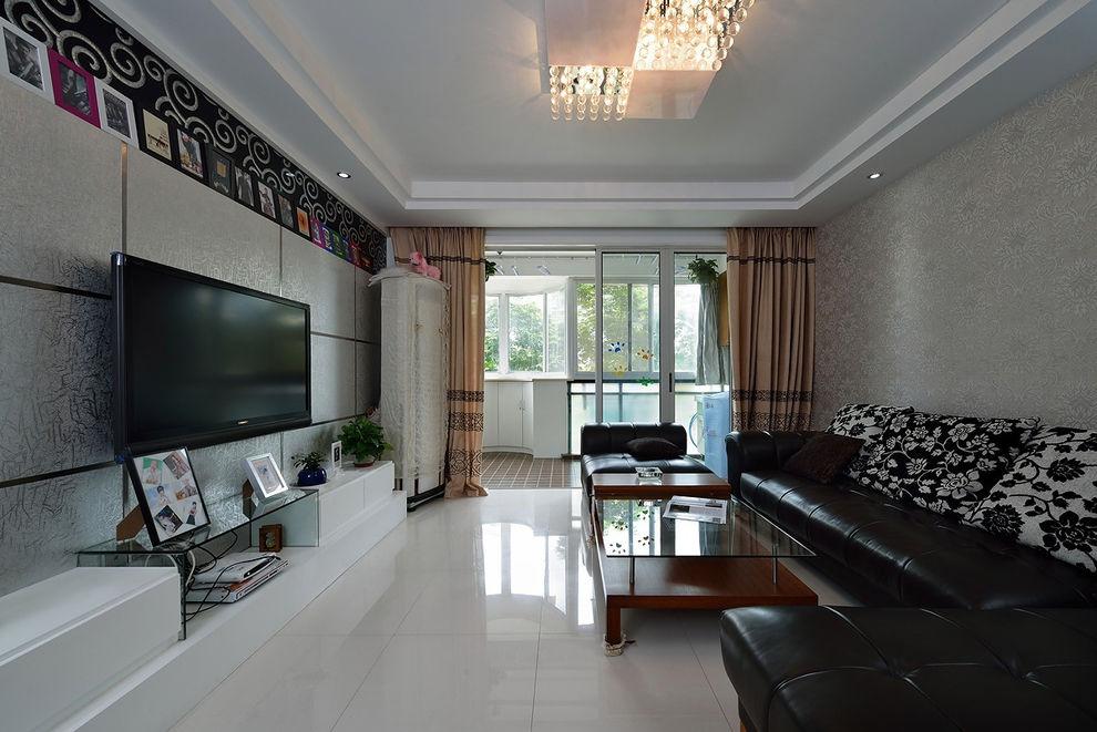 简约现代家居客厅设计效果图大全