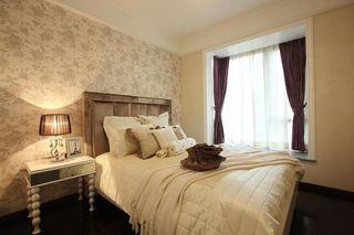 精美简欧新古典卧室背景墙效果图