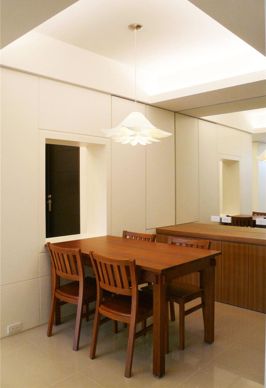 简约中式设计餐厅吊顶设计
