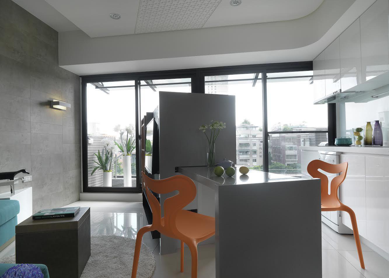 简约一居室餐厅设计