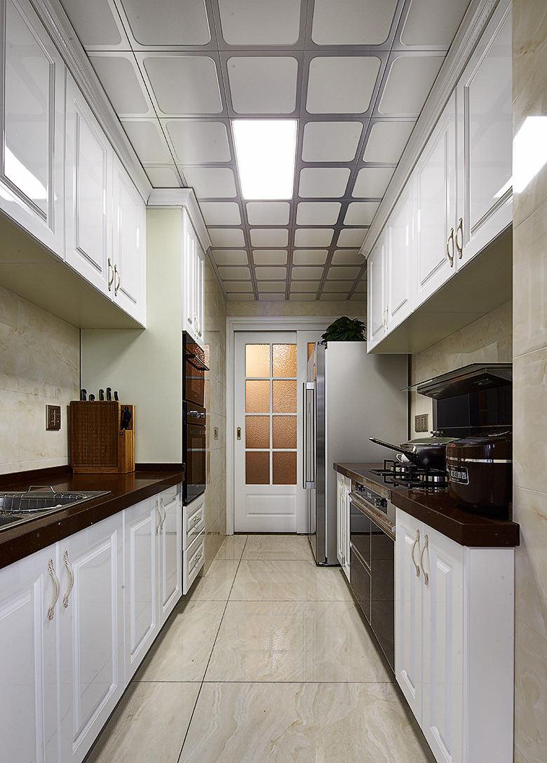 简欧装修厨房天花吊顶效果图