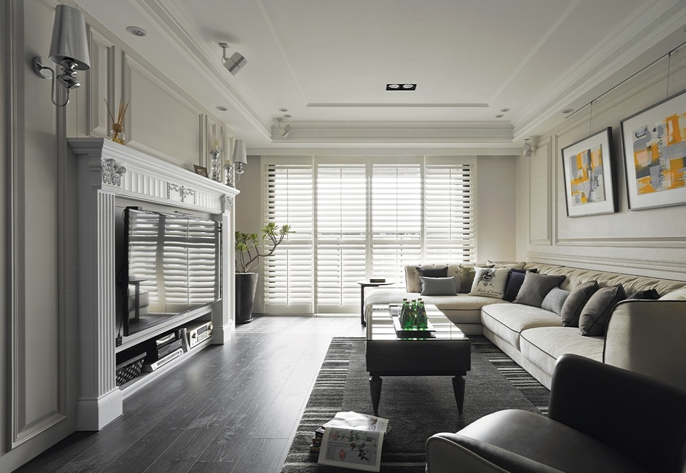家装客厅美式风格装修图