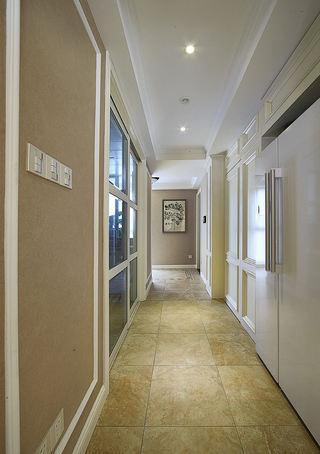 优雅浪漫简美式室内过道装饰效果图