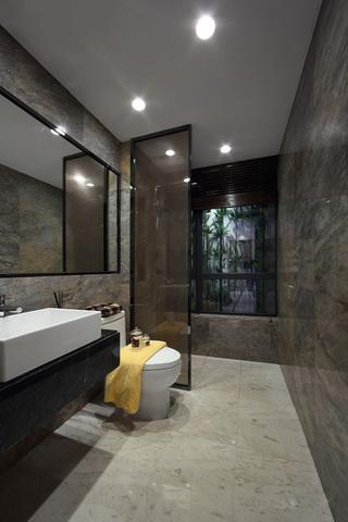 时尚美式后现代大理石卫生间设计