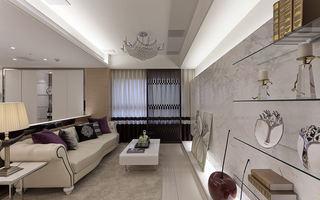时尚现代设计客厅装修图