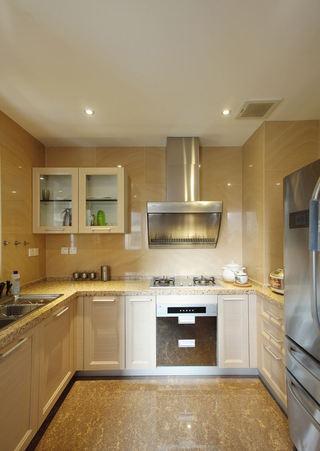 低奢时尚现代风厨房橱柜设计欣赏