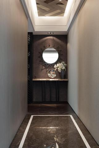 精致现代新古典玄关背景墙装饰设计