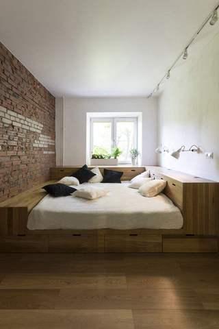 个性创意宜家设计卧室榻榻米装饰