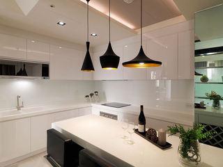 精致简约风开放式厨房餐厅设计