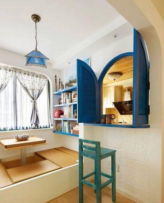 温馨浪漫地中海设计地台榻榻米设计