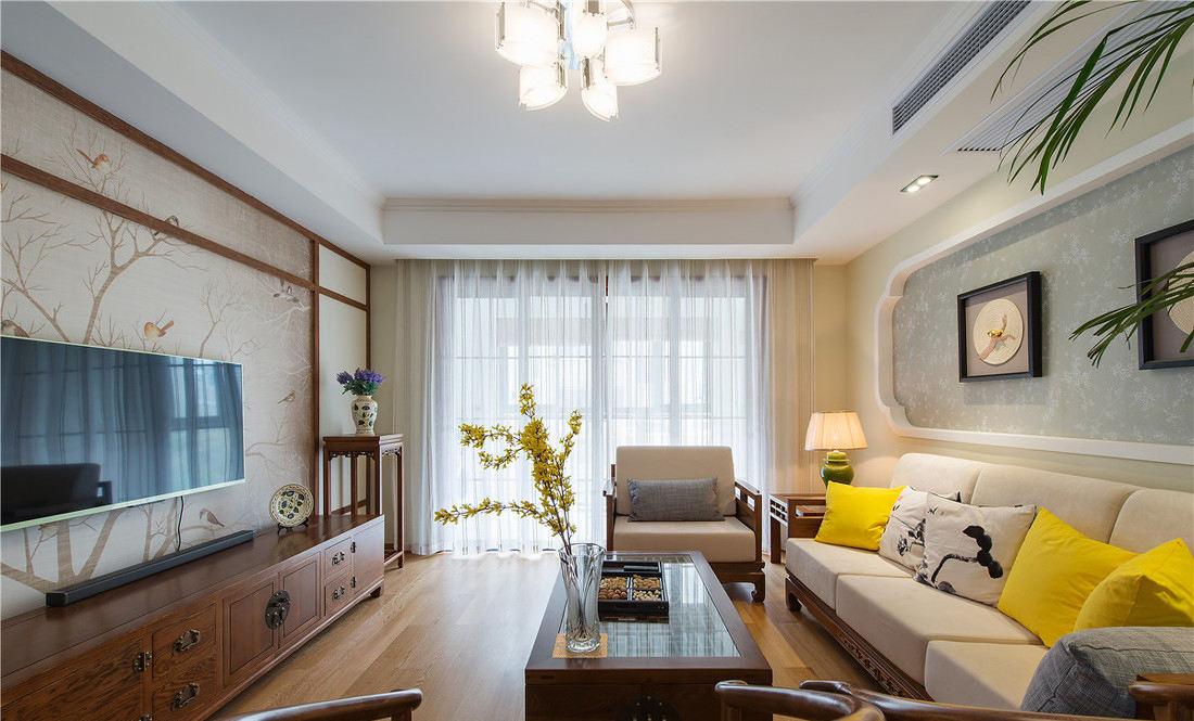 简中式风格客厅装修图