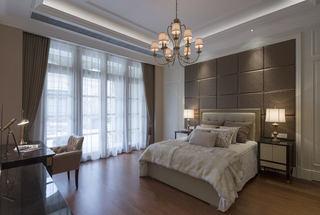 欧式风格卧室窗帘装饰图