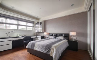 欧式现代卧室家具装饰图