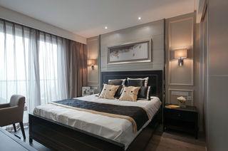 质朴现代卧室软装饰效果图