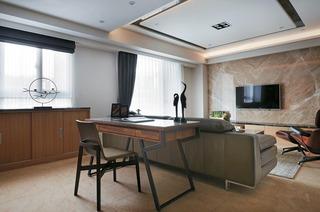 简约现代客厅吊顶设计