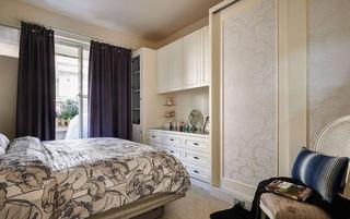 精致浪漫美式卧室整体柜装饰效果图