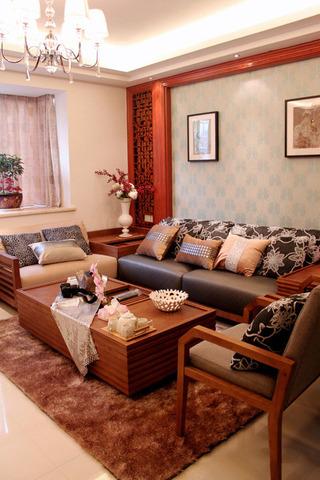 简约新中式三室两厅装修设计