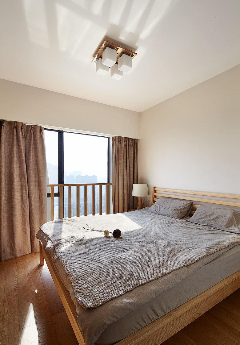 温馨原木宜家日式卧室家居装饰大全