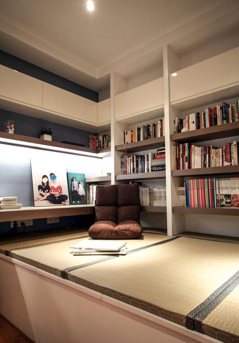 最新现代书房榻榻米装饰