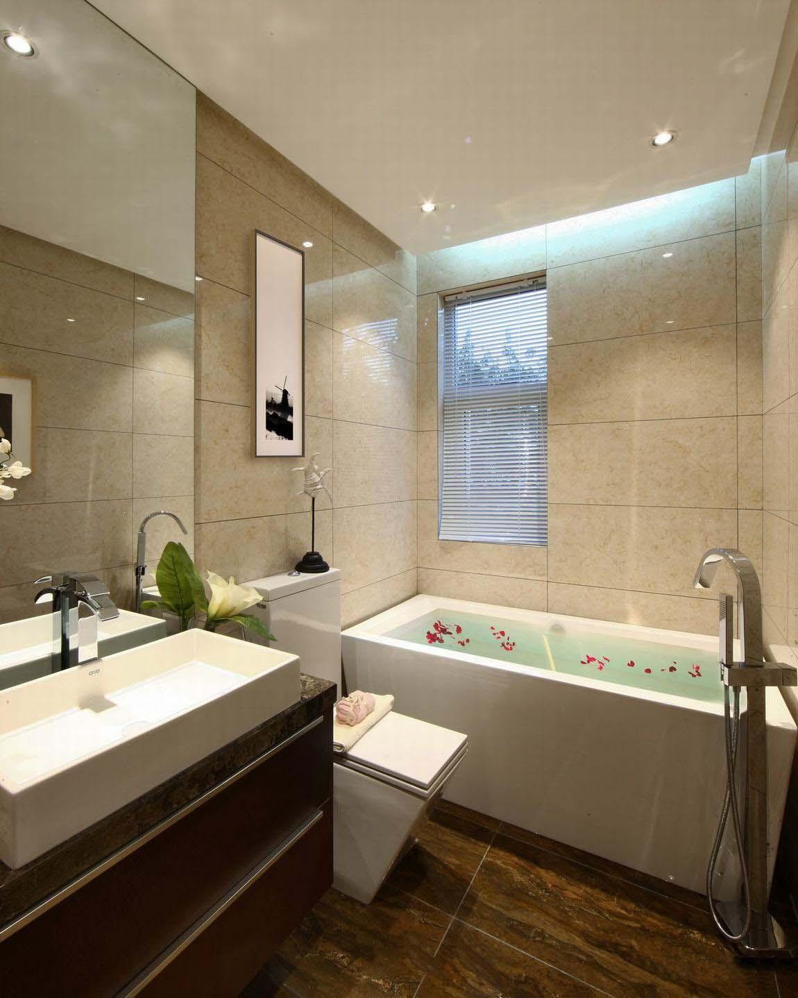美式卫生间浴缸设计图