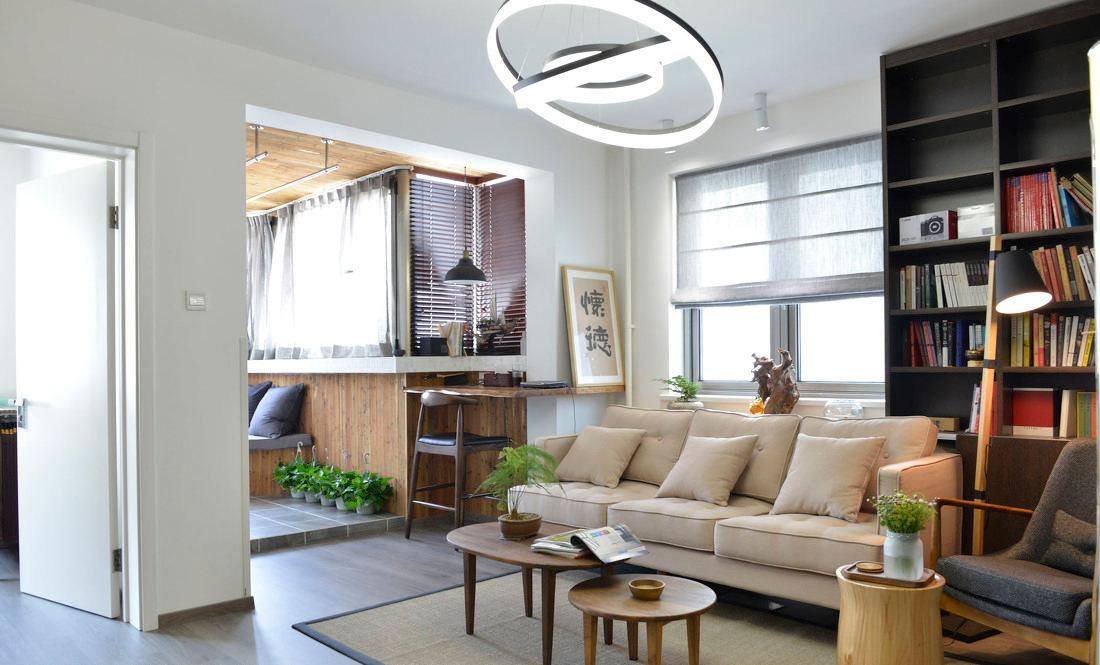 宜家简约风格小户型公寓室内装潢设计